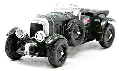 OXFORD DIECAST | BENTLY BLOWER BRITISH RACING GREEN 1927 | 1:76