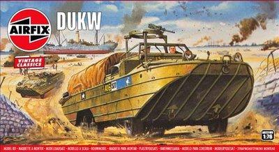 AIRFIX VINTAGE CLASSICS | DUKW WWII | 1:76
