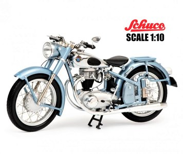 SCHUCO | HOREX REGINA (MOTORFIETS) 1954 LIM.ED. | 1:10