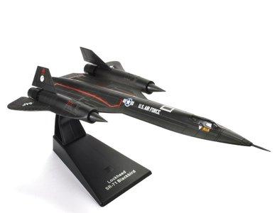 JET AGE | LOCKHEED SR-71A BLACKBIRD 17972 US AIRFORCE | 1:200