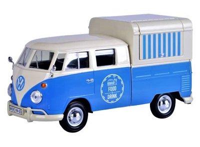 MOTORMAX | VW T1 VOLKSWAGEN FOODTRUCK 'FOOD & DRINK' 1962 | 1:24