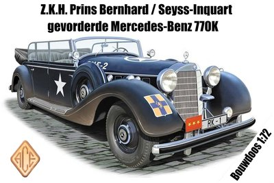 ACE | MERCEDES TYPE 770K Z.K.H. PRINS BERNHARD SEYSS-INQUARTGEVORDERDE MERCEDES-BENZ | 1:72
