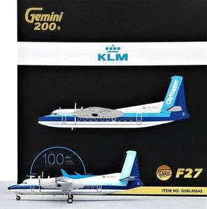 GEMINIJETS | NLM F27 FRIENDSHIP 'CITYHOPPER' PH-KFE (KLM) | 1:200