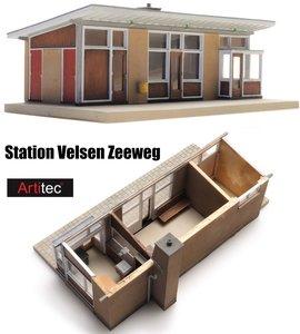 ARTITEC | STATION VELSEN ZEEWEG (BOUWKIT) | 1:87