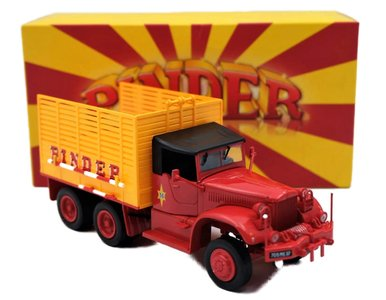 DIREKT COLLECTIONS | PINDER CIRCUS DIAMOND T968A 'STRO TRUCK' 1955 | 1:43