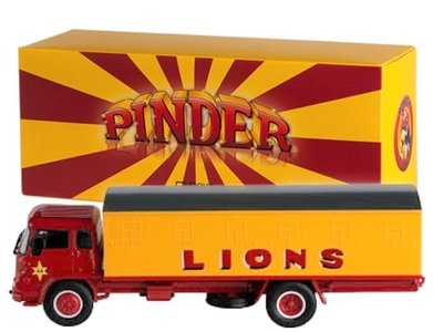 DIREKT COLLECTIONS   PINDER CIRCUS BEDFORD 'LIONS'   1:43