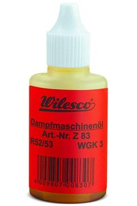 WILESCO   Z83 STOOMMACHINE OLIE   15ML