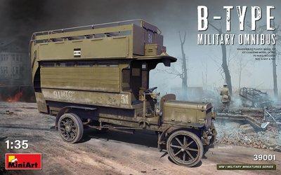 MINIART | B-TYPE MILITARY OMNIBUS | 1:35