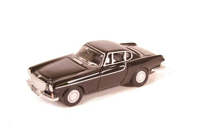 OXFORD DIECAST - VOLVO P1800 COUPE (BLACK) 1961 - 1:76