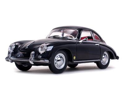 SUN STAR - PORSCHE 356A 1500 GS CARRERA GT COUPE (BLACK) 1957 - 1:18