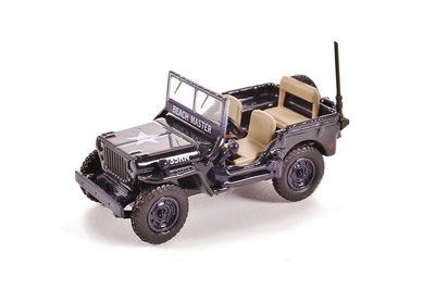OXFORD DIECAST - WILLYS JEEP MB ROYAL NAVY 1942 - 1:76