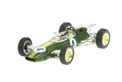 SPECIAL C - LOTUS 25 No.4 TEAM LOTUS FORMULA 1 J.CLARK 1962 - 1:43
