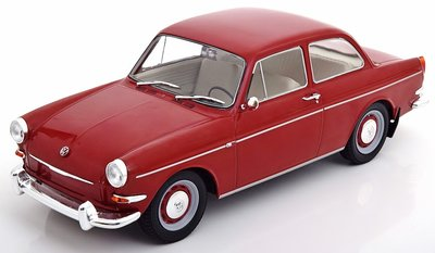 MODELCAR GROUP | VOLKSWAGEN VW 1500 S (TYPE 3) (DONKERROOD) 1961 | 1:18