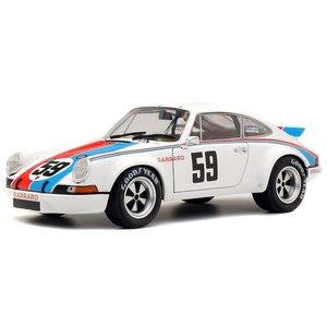 SOLIDO | PORSCHE 911 CARRERA RSR N0.59WINNER 24h DAYTONA 1973 | 1:18
