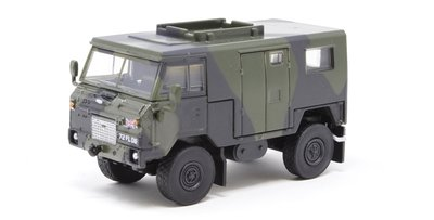 OXFORD DIECAST | LAND ROVER FC SIGNALS NATO GREEN CAMOUFLAGE | 1:76