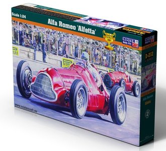 MISTERCRAFT | ALFA ROMEO 'ALFETTA' GP WINNER 1950 (PLASTIC MODELBOUWDOOS) | 1:24