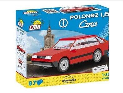 COBI | POLONEZ 1.6 CARO ROOD (BOUWSTENENDOOS) | 1:35