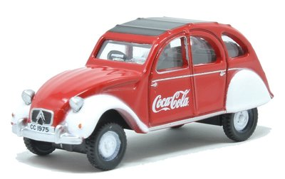 OXFORD DIECAST | CITROEN 2CV COCA COLA | 1:76
