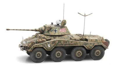 ARTITEC | Sd.Kfz  234/2 PUMA TARNUNG (READY MADE) | 1:87