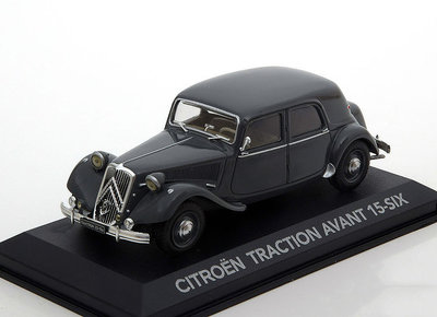 ATLAS EDITIONS | CITROEN TRACTION AVANT 15-SIX 'GREY' 1952 | 1:43