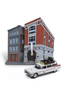 JONNY LIGHTING | GHOSTBUSTERS ECTO 1A CADILLAC 1959 DIORAMA | 1:64