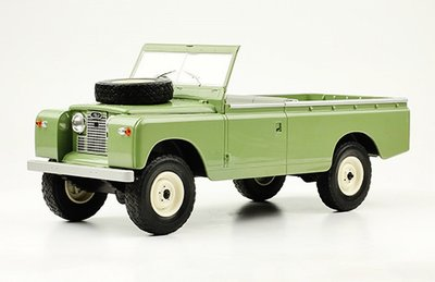 MODELCAR GROUP | LAND ROVER 109 PICK-UP SERIES II OPEN (OLIVE GREEN) 1959 | 1:18