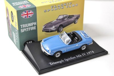 ATLAS | TRIUMPH SPITFIRE MKIV 'CLASSIC SPORT CARS' 1974 | 1:43