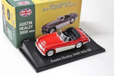 ATLAS   AUSTIN HEALEY 3000 MkIII  'CLASSIC SPORT CARS' 1959   1:43