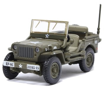 OXFORD DIECAST | WILLYS MB JEEP US ARMY | 1:76