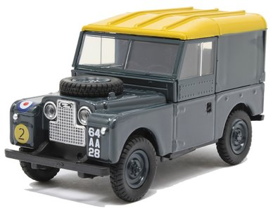 OXFORD DIECAST | LAND ROVER SERIES I 88 HARD TOP 'RAF' 1949 | 1:43