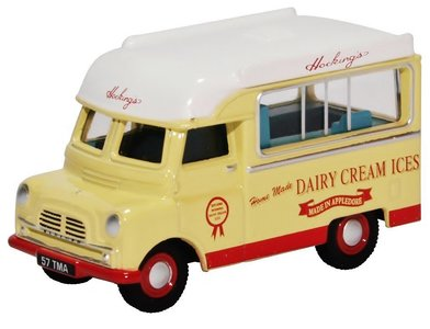 OXFORD DIECAST | BEDFORD CA ICE CREAM 'HOCKINGS' 1957 | 1:76