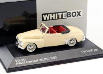 WHITEBOX | VOLVO PV 445 CABRIOLET VALBO 1953 | 1:43