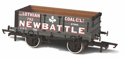 OXFORD RAIL | PLANK WAGON 'LOTIAN COAL Co No. 792' | H0|00