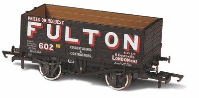 OXFORD RAIL | PLANK WAGON 'WIGAM FULTON No. 602' | H0|00