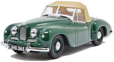 OXFORD DIECAST | JOWETT JUPITER SA (GREEN) 1950 | 1:43