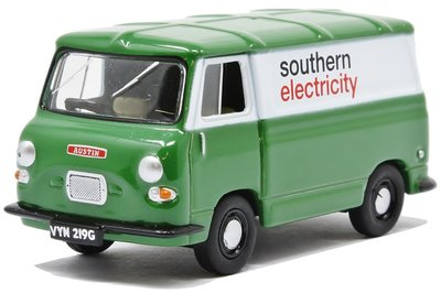 OXFORD DIECAST | AUSTIN J4 VAN 'SOUTHERN ELECTRICITY' 1961 | 1:76