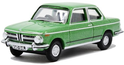 OXFORD DIECAST | BMW 2002 (GREEN) 1973 | 1:76
