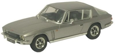 OXFORD DIECAST | JENSEN INTERCEPTOR Mkll (SILVER GREY) 1969| 1:43