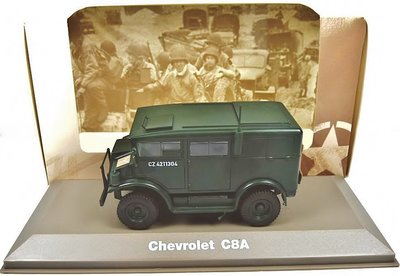 ATLAS | CHEVROLET C8A 1942 | 1:43