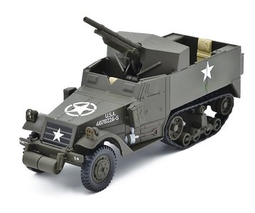 ATLAS | M3A-1 GMC 75MM HALF-TRACK USA 1942 | 1:43