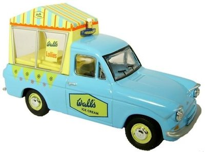 OXFORD DIECAST | FORD ANGLIA ICE CREAM 'WALLS' 1965 | 1:76