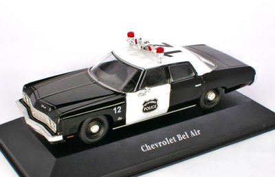 ATLAS | CHERVROLET BEL AIR USA 'POLICE CARS COLLECTION' 1973 | 1:43
