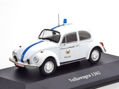 ATLAS | VOLKSWAGEN 1302 (KEVER) BELGIE 'POLICE CARS COLLECTION' 1970 | 1:43