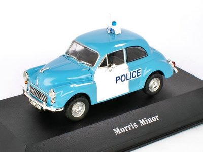 ATLAS | MORRIS MINOR UK 'POLICE CARS COLLECTION' 1957 | 1:43
