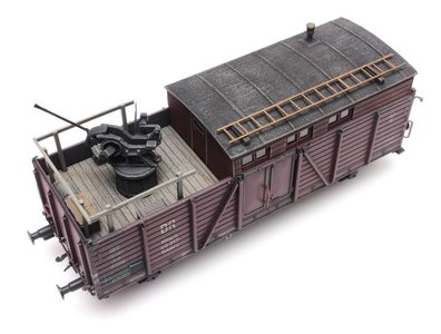 ARTITEC | EISENBAHN FLAKSTAND 20MM VOOR VILLACH (READY MADE) | 1:87