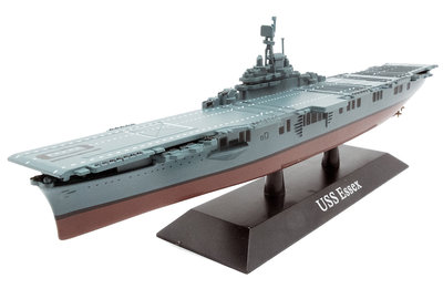 DEAGOSTINI | USS ESSEX AIRCRAFT CARRIER USA 1942 | 1:1250