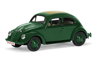 CORGI | VW BEETLE (KEVER) Type 1-11E 'ROYAL MILITARY POLICE' LIM.ED. | 1:43