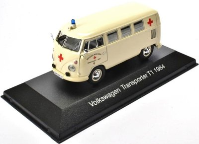 ATLAS | VOLKSWAGEN TRANSPORTER T1 'AMBULANCE COLLECTION' 1964 | 1:43