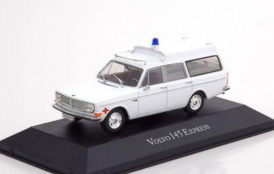 ATLAS | VOLVO 145 EXPRESS 'AMBULANCE COLLECTION' 1969 (IXO) | 1:43