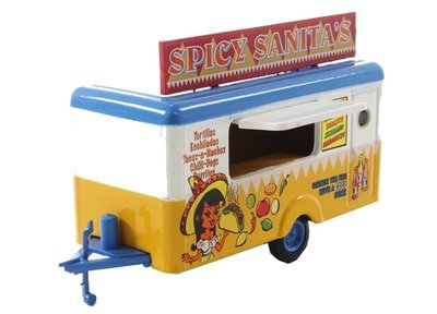 OXFORD DIECAST | SPICY SANITA'S 'MOBILE FOOD TRAILER' | 1:76